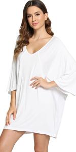 women bamboo nightgowns