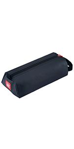Rough Enough Large Pencil Case Electronic Cable Organizer Small Tool Bag Art Supplies Case EDC Pouch
