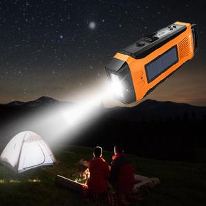flashlight emergency radio
