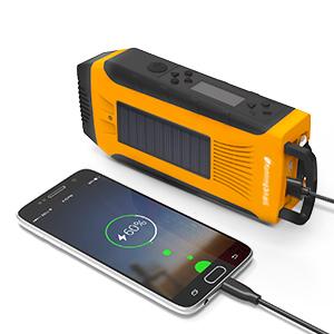 hand powered radio