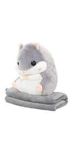 Hamster blanket cushion