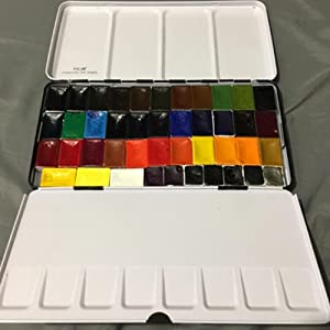 watercolor tin