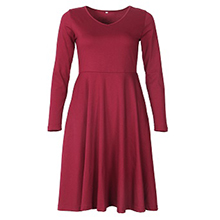 Vintage swing midi dress
