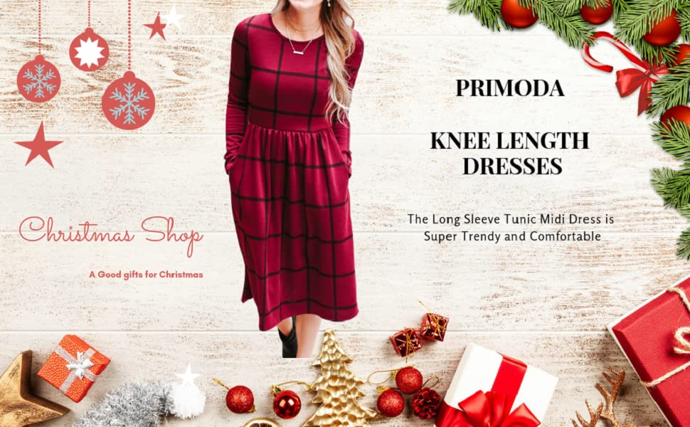 This knee length will be a good christmas gift for your family and friends