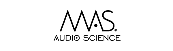 MAS Audio science hybrid Driver IEMs Earbuds High Fidelity quad Balanced Armature Core array