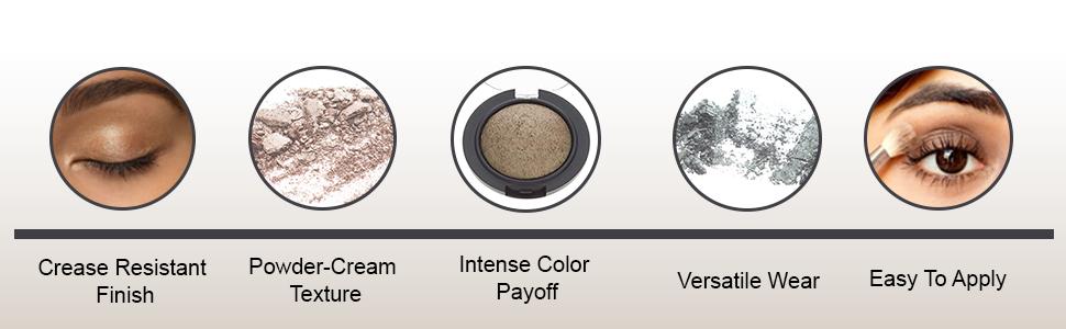 powder wet dry eyeshadow intense color
