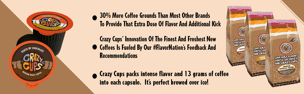 coffee, flavored, decaf, recyclable, gluten chocolate, keurig, k-cups, cups, caffeine, flavor