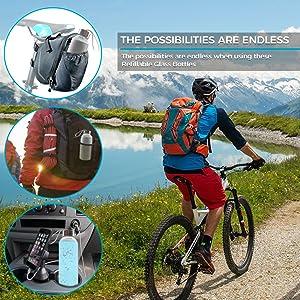glass juicer organic water bottlers bottles no more plastic outdoor and indoor tea water