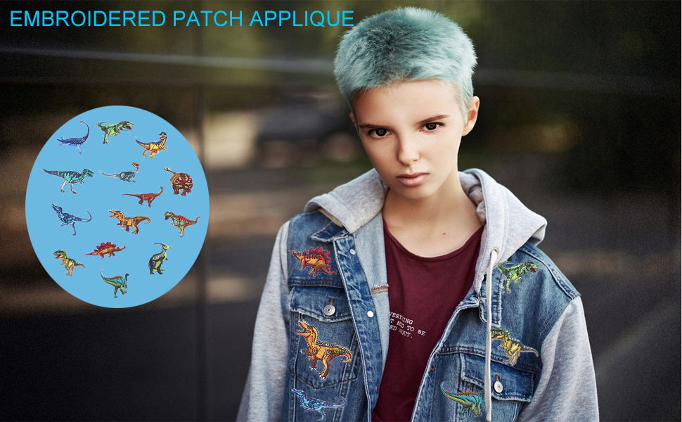 Embroidered Patch Applique