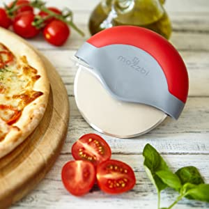 mozzbi mini new no nylon one oxo palm pampered pan pizzacutter pizzacutters plastic poke in