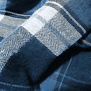 Closeup view of fine woven fabric
