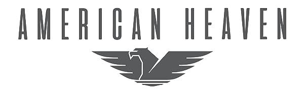 American heaven eagle logo