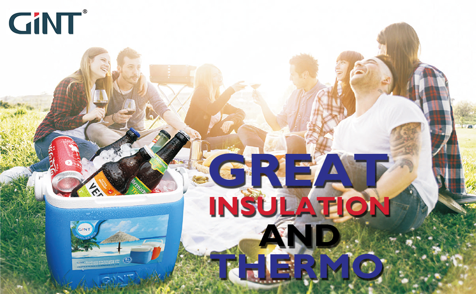 GiNT COOLER, ICE CHEST. GREAT INSULATION AND THERMO