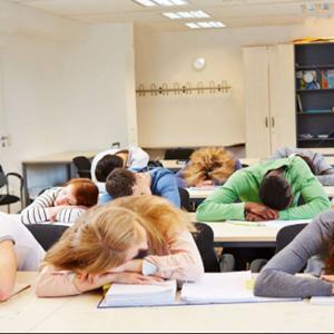 nap in class