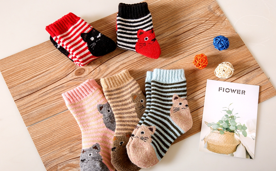 Pack kids Boys Fashion Cotton and Soft Cute Breathable Socks
