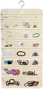 Hanging Jewelry Organizer (50 Pockets)