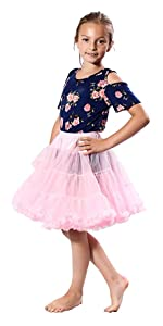 petticoat pettiskirt child kids children tutu tulle spirit ballerina rave