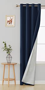 sun blocking curtains decorative curtains heat blocking curtains for bedroom living room kids room