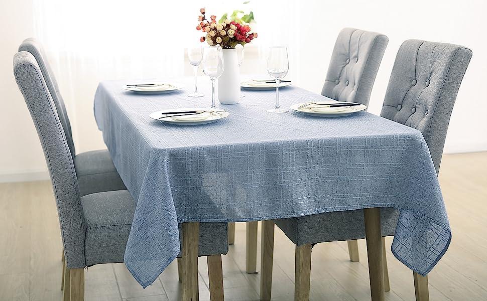 grey child washable cream linens cloths room resistant restaurant parties