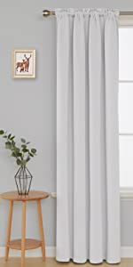 rod pocket blackout curtains