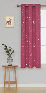 thermal insulated blackout curtains living room darkening draperies bedroom curtain panels drapes