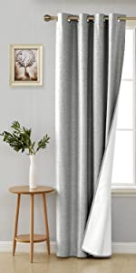 coated blackout curtains