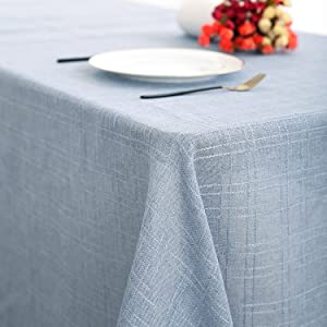 fall table runner spill proof stain resistant coffee cloth napkins wrinkle freered table runners