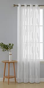 textured sheer curtains