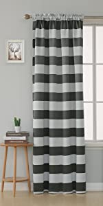 black and white striped curtain black white curtains