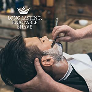 LONG LASTING AND ENJOYABLE SHAVE