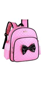 Waterproof PU Leather Kids Backpack Cute Princess School Bookbag for Primary Girls