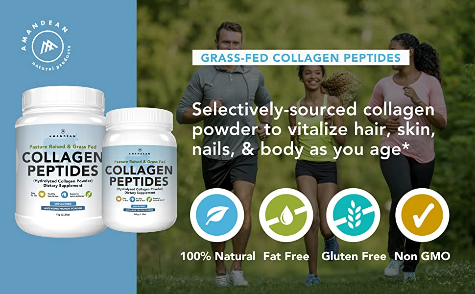 collagen peptides, collagen protein, collagen powder, hydrolyzed collagen , bovine collagen