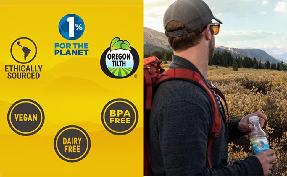 Ethically Sourced Tea, Vegan Tea, BPA Free, Dairy Free