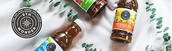 8th Wonder Tea, Superfood Tea, Organic Tea