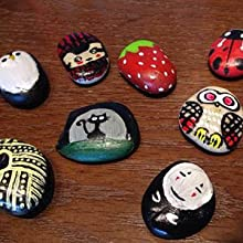 rock painting pens