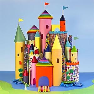 crayon castle packaging reuse