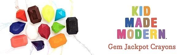 Gem Jackpot Crayons Kid Made Modern