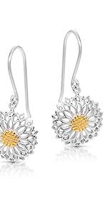 BLING BIJOUX Jewelry Golden Pollen Sunflower