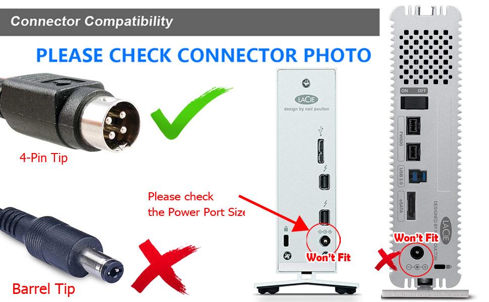 4-pin plug