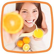Thompson Vitamin C Powder 5000mg 100% Pure Ascorbic Acid Immune Support Antioxidant Supplement 12 oz