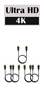 5 Pack DisplayPort Cable