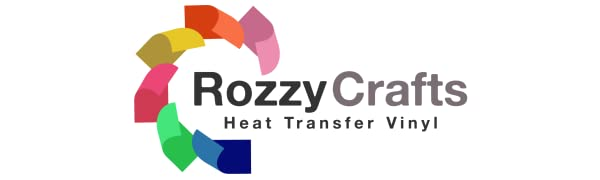 Rozzy Crafts Heat Transfer Vinyl