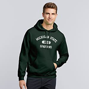 NCAA College Collegiate Athletics Athletic Arch Established Hoodie