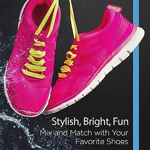 flat ahlatic shoe laces
