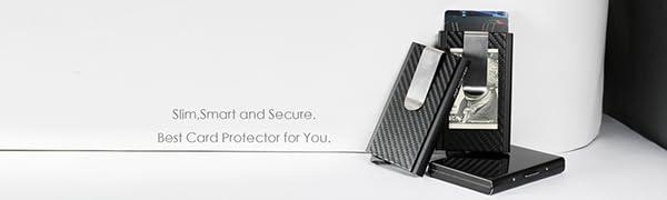 Slim credit card holder