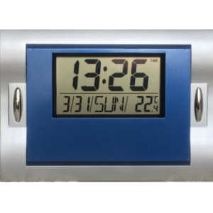 Digital Clock with temperature