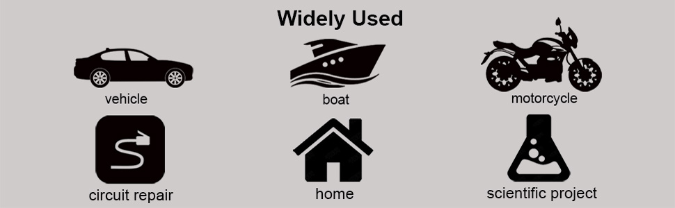 Work great for boat, vehicle, home or scientific project, prevents corrosion
