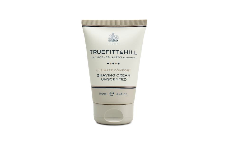 Truefitt & Hill Ultimate Comfort Shaving Cream Travel Tube, 3.38oz