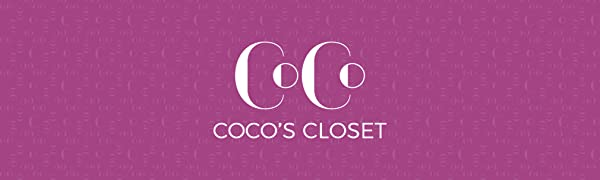 coco's closet products packaging