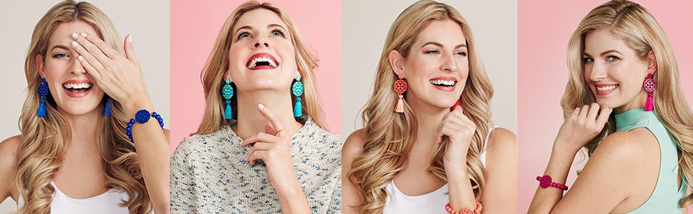 resin dangle drop earring acrylic acetate women fashion style earrings twirling blossom gift ZENZII